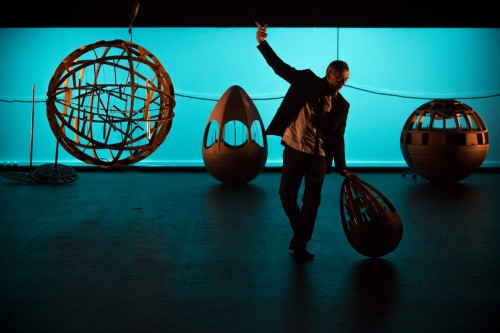 Deux hommes jonglaient dans leur tête Albi160401 - Centre National de Création Musicale Ile de France - CNCM - La Muse en Circuit (Alfortville -94)