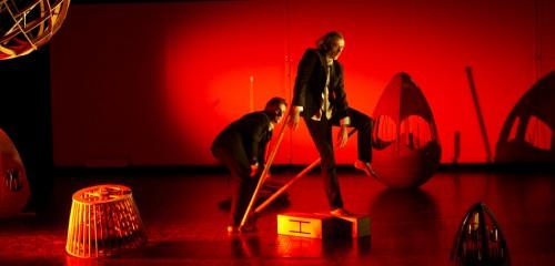 Deux hommes jonglaient dans leur tête - Centre National de Création Musicale Ile de France - CNCM - La Muse en Circuit (Alfortville -94)
