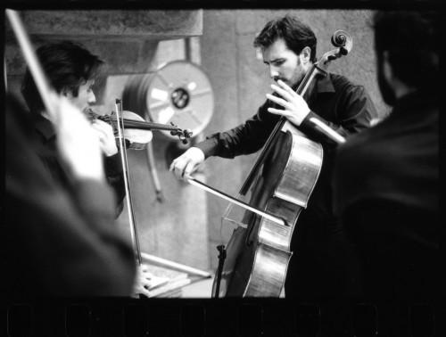 Trio Jean Louis / Quatuor Bela_Violes, trompes et tambours !- CNCM - La Muse en Circuit (Alfortville -94)