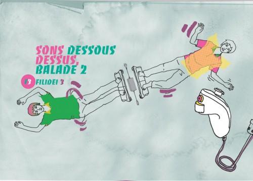 Sons dessus dessous, Balade 2 - Centre National de Création Musicale Ile de France - CNCM - La Muse en Circuit (Alfortville -94)