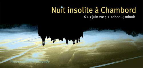 Nuit insolite à Chambord - Centre National de Création Musicale Ile de France - CNCM - La Muse en Circuit (Alfortville -94)